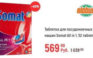 Акции на средства для мытья в ПММ — Москва