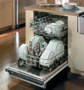 Ставим посуду в посудомойку правильно