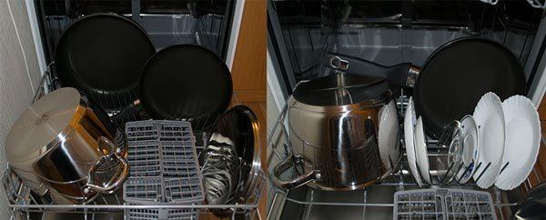 Как разместить кастрюли и сковородки - варианты